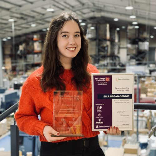 Listawood celebrates coveted Apprentice of the Year award
