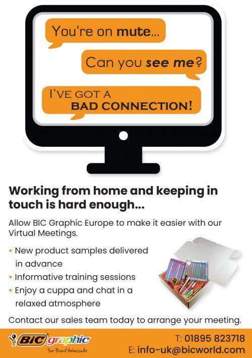 5th February 2021, UK – BIC Graphic Virtual Meetings